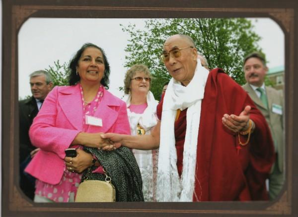 Jai Verma meeting  His Holiness 28.5.2008 Dalai Lama012