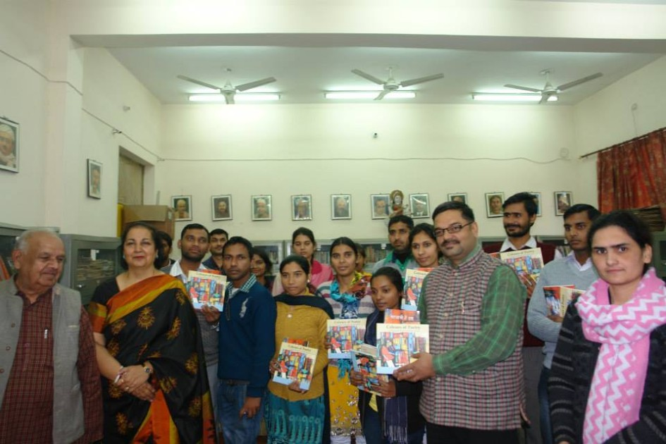 Jai Verma was honoured chief guest at Meerut University