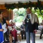 The Lord Mayor of Nottingham was honoured by Kavya Rang Members