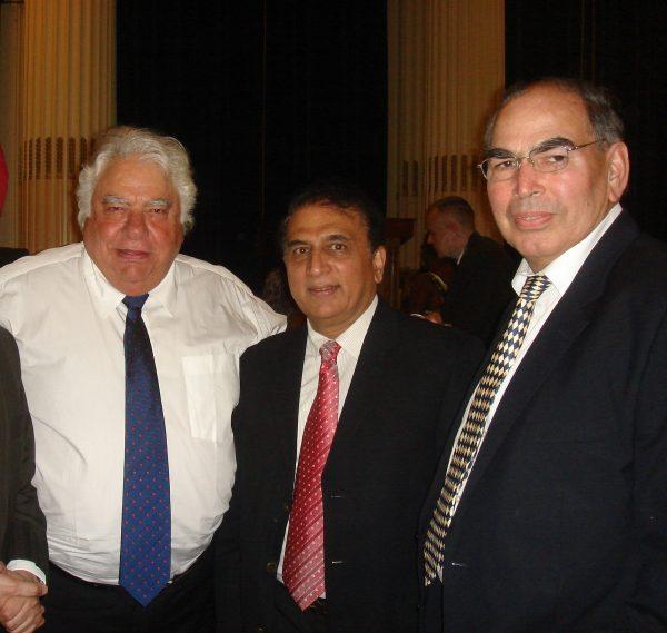 Farooq Engineer and Sunil Gavaskar