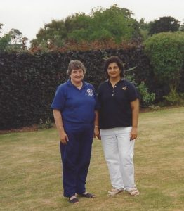 Ladies Invitation Day at Beeston Fields, with Lady Captain of Wollaton Park, Gabrieal.