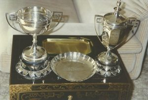 Barkin Cup, Barnsdale Cup, Bronze Medal Trophy and others.