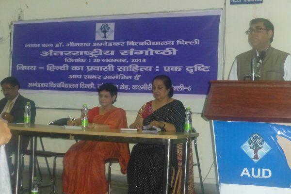2014 Ambedkar University, Delhi