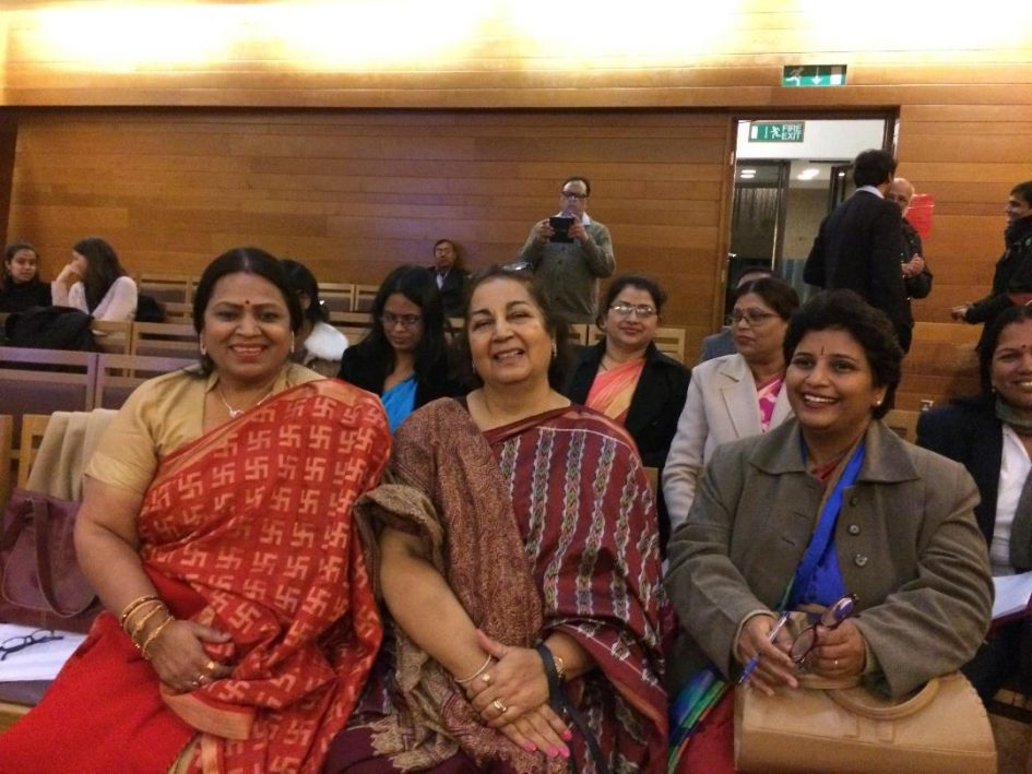 Seminar at Oxford Uni Tejendra Sharma